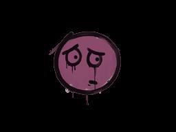 Запечатанный граффити | Волнушка (Нежный розовый)