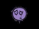 Sealed Graffiti   Worry (Violent Violet)