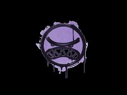 Запечатанный граффити | Вредина (Жестокий фиолетовый)