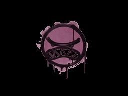 Запечатанный граффити   Вредина (Нежный розовый)