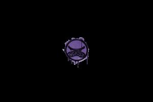 Sealed Graffiti Tilt Monster Purple