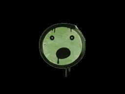 Sealed Graffiti | Speechless (Battle Green)
