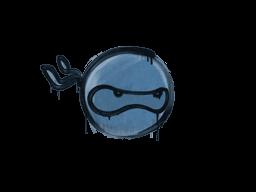 Запечатанный граффити | Ниндзя (Королевский синий)