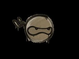 Sealed Graffiti | Ninja (Dust Brown)