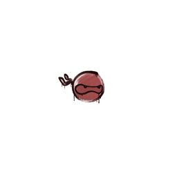 Sealed Graffiti | Ninja (Blood Red)