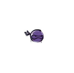 Sealed Graffiti | Ninja (Monster Purple)