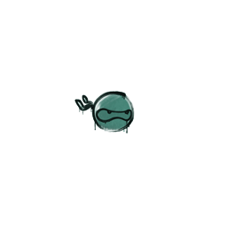 Sealed Graffiti   Ninja (Frog Green)