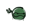 Sealed Graffiti   Ninja (Jungle Green)