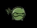 Sealed Graffiti   Ninja (Battle Green)
