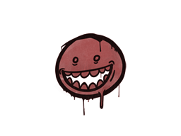 Sealed Graffiti   Mr. Teeth (Blood Red)