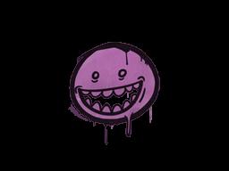 Sealed Graffiti   Mr. Teeth (Bazooka Pink)