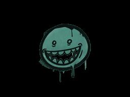 Запечатанный граффити | Зубастик (Лягушачий зелёный)