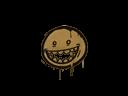 Sealed Graffiti | Mr. Teeth (Desert Amber)