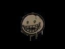 Sealed Graffiti | Mr. Teeth (Dust Brown)