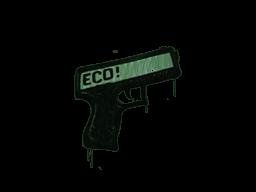 Запечатанный граффити | Пистолетка (Лесной зелёный)