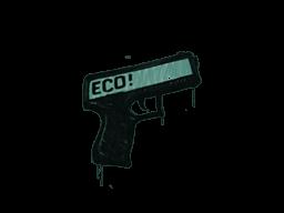 Запечатанный граффити | Пистолетка (Лягушачий зелёный)