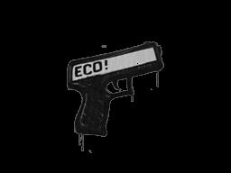 Запечатанный граффити | Пистолетка (Акулий белый)