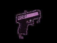 Zalakowane graffiti | Eco (róż bazooki)