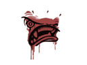 Sealed Graffiti   Rage Mode (Blood Red)