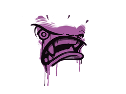 Запечатанный граффити | Ярость (Взрывной розовый)