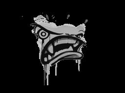 Запечатанный граффити | Ярость (Акулий белый)