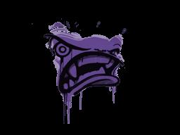 Запечатанный граффити | Ярость (Жуткий фиолетовый)