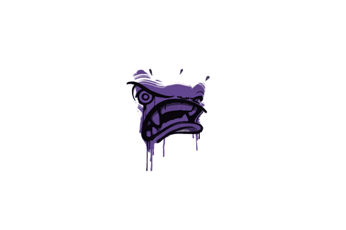Sealed Graffiti   Rage Mode (Monster Purple) Prices