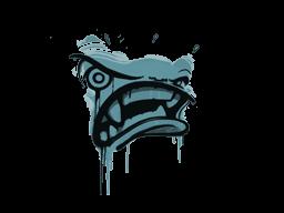 Запечатанный граффити | Ярость (Пластиковый синий)