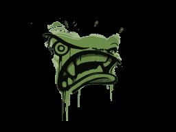 Запечатанный граффити | Ярость (Боевой зелёный)