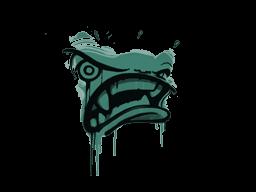 Запечатанный граффити | Ярость (Лягушачий зелёный)