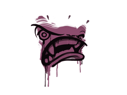 Запечатанный граффити | Ярость (Нежный розовый)