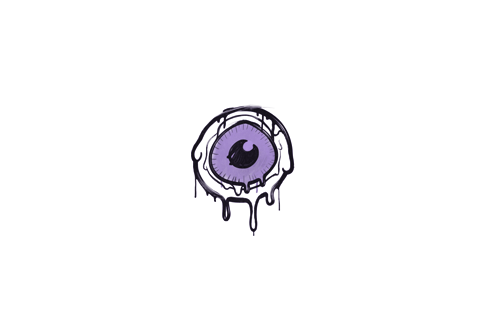 Sealed Graffiti   Eye Spy (Violent Violet) Prices