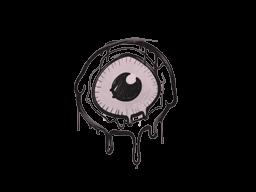 Запечатанный граффити | Глазок (Траншейный розовый)
