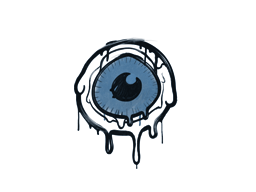 Запечатанный граффити | Глазок (Королевский синий)