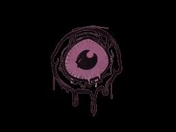 Запечатанный граффити | Глазок (Нежный розовый)