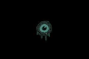 Sealed Graffiti Eye Spy Frog Green