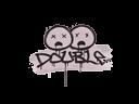 Graffiti   Double (War Pig Pink)