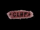Sealed Graffiti | GLHF (Brick Red)