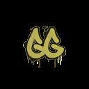 Sealed Graffiti | GGEZ (Tracer Yellow)