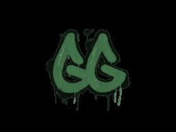 Запечатанный граффити | Легкая игра (Лесной зелёный)