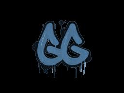 Запечатанный граффити   Легкая игра (Королевский синий)