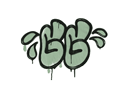 Sealed Graffiti | GGWP (Cash Green)