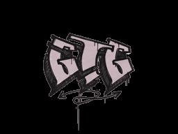 Запечатанный граффити   Мне пора (Траншейный розовый)