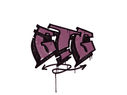 Sealed Graffiti | GTG (Princess Pink)