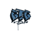Sealed Graffiti | GTG (Monarch Blue)