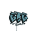 Sealed Graffiti | GTG (Wire Blue)