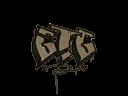 Sealed Graffiti | GTG (Dust Brown)