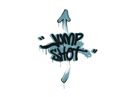 Sealed Graffiti | Jump Shot (Wire Blue)