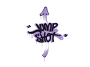 Sealed Graffiti | Jump Shot (Violent Violet)