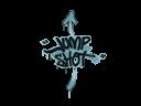 Sealed Graffiti | Jump Shot (Wire Blue)